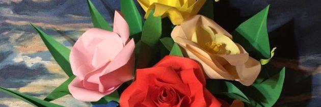L'arte di piegare la carta: l'origami a Georgica 2018